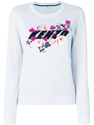 толстовка Kenzo x Floral Leaf Kenzo