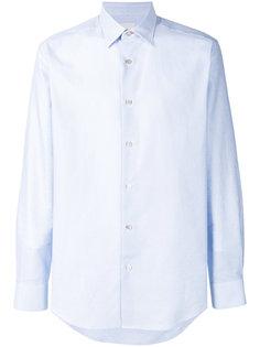фактурная рубашка с длинными рукавами Paul Smith