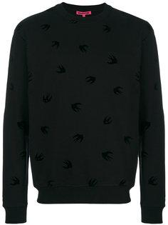свитер вязки интарсия McQ Alexander McQueen