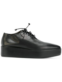 ботинки со шнуровкой на платформе Marsèll