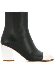 ботинки по щиколотку с контрастным носком Proenza Schouler