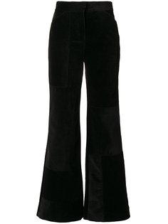 брюки в рубчик с завышенной талией Victoria Victoria Beckham