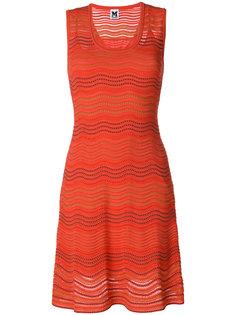 трикотажное платье без рукавов  M Missoni