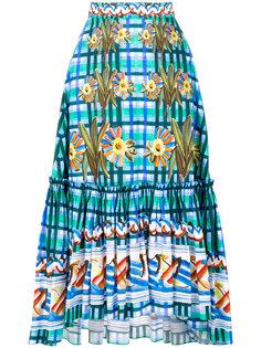 юбка с рисунком Peter Pilotto
