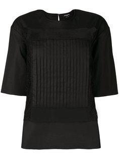 блузка с полупрозрачными вставками Rochas
