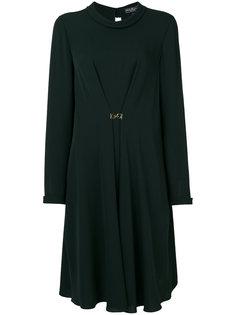 платье шифт с драпировкой  Salvatore Ferragamo