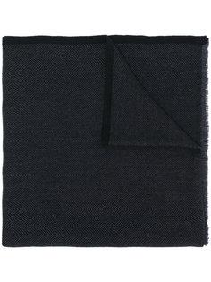 шарф с узором елочкой Salvatore Ferragamo
