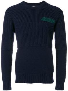 свитер ребристой вязки Kenzo