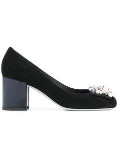 туфли-лодочки с украшением из бусин René Caovilla