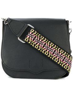 сумка с узорчатым плечевым ремнем Rebecca Minkoff
