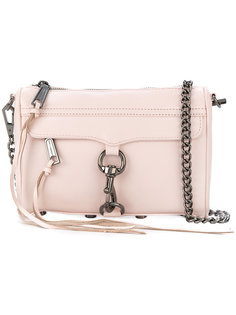 сумка на плечо с брелками-кисточками Rebecca Minkoff