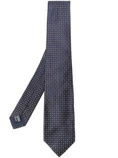 плетеный галстук с узором Giorgio Armani