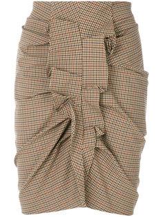 твидовая юбка с оборкой Isabel Marant Étoile