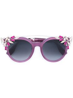 солнцезащитные очки Vivys Jimmy Choo Eyewear