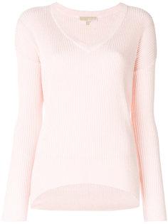 вязаный свитер с V-образным вырезом Michael Michael Kors