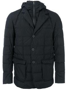куртка с капюшоном и карманами с клапанами Herno
