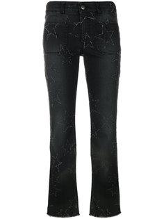 укороченные джинсы со звездами Stella McCartney