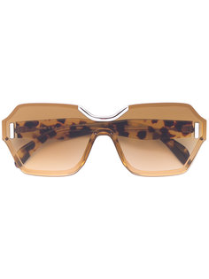 солнцезащитные очки в квадратной оправе Prada Eyewear