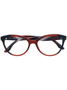 очки в оправе формы кошачий глаз Prada Eyewear