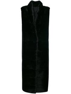 длинный жилет Liska