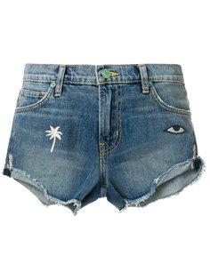 джинсовые шорты с вышивкой Sandrine Rose
