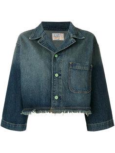 укороченная джинсовая куртка  Sandrine Rose