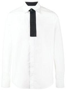 рубашка с контрастной планкой Marni