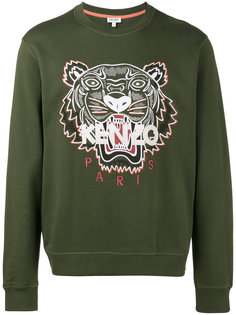 толстовка с головой тигра Kenzo