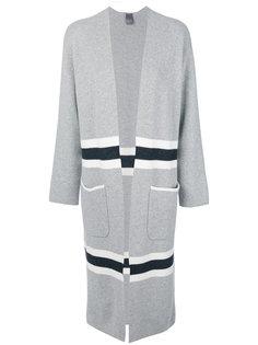 пальто с контрастными вставками Lorena Antoniazzi