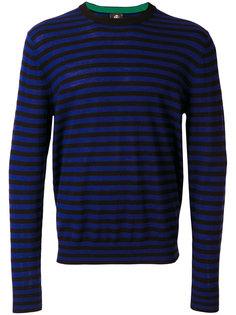 вязаный свитер в полоску Ps By Paul Smith