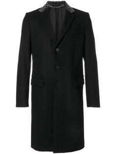 пальто с заклепками на воротнике Givenchy