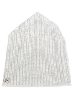 вязаная шапка-бини с фирменной бляшкой Lost & Found Ria Dunn
