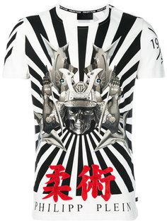 футболка с принтом с черепом Philipp Plein