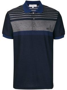 рубашка-поло с застежкой на пуговицы Salvatore Ferragamo