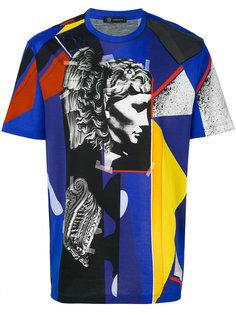 футболка с геометрическим принтом Medusa Versace