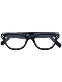 очки в оправе овальной формы Céline Eyewear