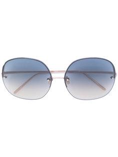 тонированные солнцезащитные очки Linda Farrow