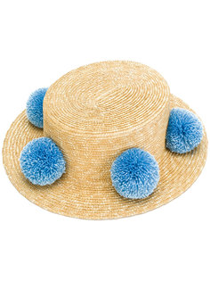 шляпа с помпонами Eshvi for 711 Jupiter Eshvi