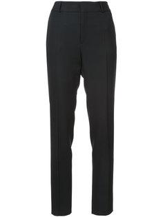 классические брюки с высокой талией Saint Laurent
