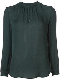 полупрозрачная блузка со сборками Nili Lotan