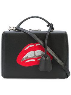 сумка через плечо с принтом губ Mark Cross