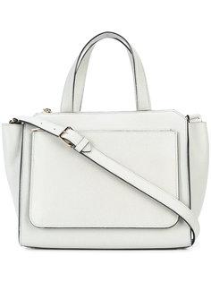 сумка на плечо с верхними ручками Valextra