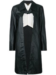 пальто с необработанными краями Comme Des Garçons