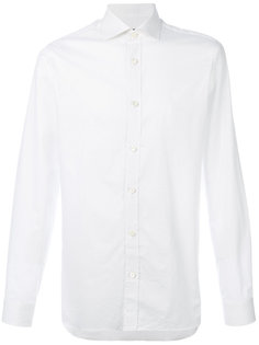 рубашка в микро-горох Z Zegna