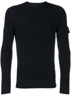 облегающий свитер с круглым вырезом Stone Island