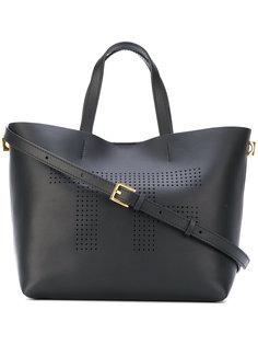сумка-тоут с фирменной перфорацией Tom Ford