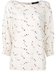 блузка с флажками Steffen Schraut