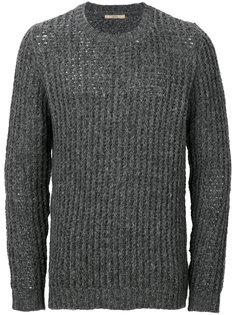 текстурный вязаный свитер Nuur