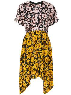 повседневное платье с цветочным рисунком Kenzo