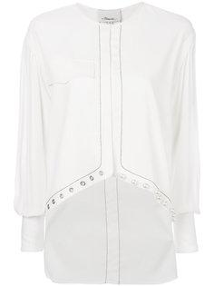 рубашка с жемчужными бусинами 3.1 Phillip Lim